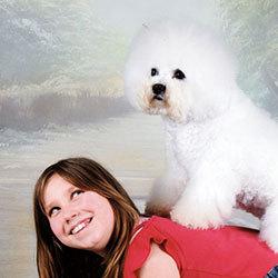Hund & Kind | Snowflake Bichon Frisé